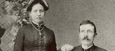 Paternal Grandparents Carl and Louisa Johnson - 1885